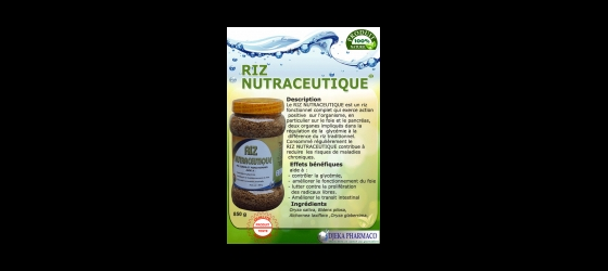 Riz nutraceutique