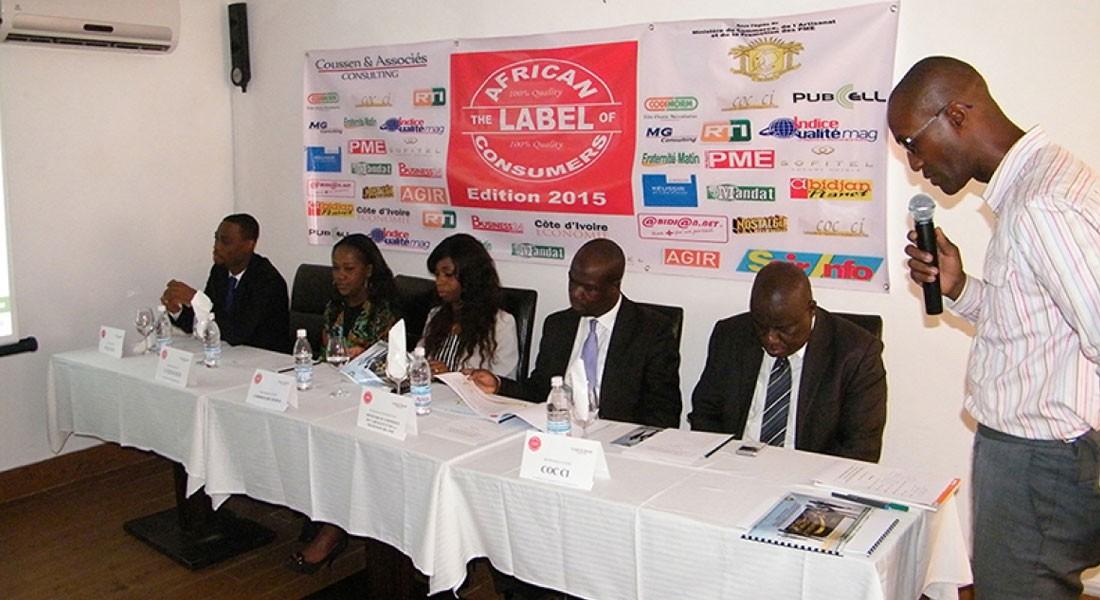 Conférence de presse pour le lancement du Label des Consommateurs
